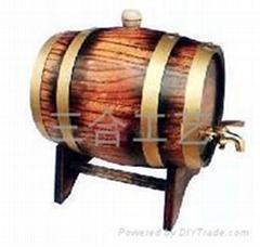 廠家定製木製酒桶各種木製包裝盒量大從優