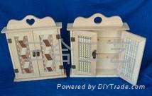 廠家生產各式木盒禮品盒加工木製首飾盒 1