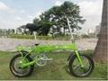 新一代环保电动折叠自行车