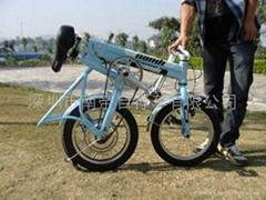 能携带上下楼梯的电动自行车