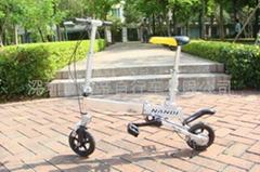 南帝袖珍折叠自行车