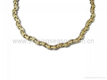 Magnetic Stainless Steel/titanium Necklace &Bracelet