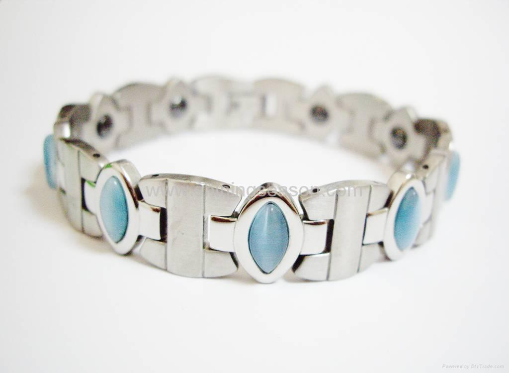 磁性保健不锈钢手链