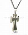 Stainless Steel Cross Pendants