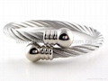 Magnetic Stainless Steel Bangle