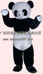 广告服装大熊猫