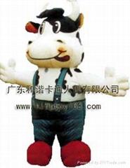 动漫卡通奶牛