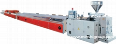 PVC Plastic door window profile extrusion production line