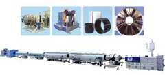 HDPE Pipe Extrusion Line | PE Pipe