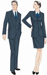 工作服制服西服棉袄等团体服装订做