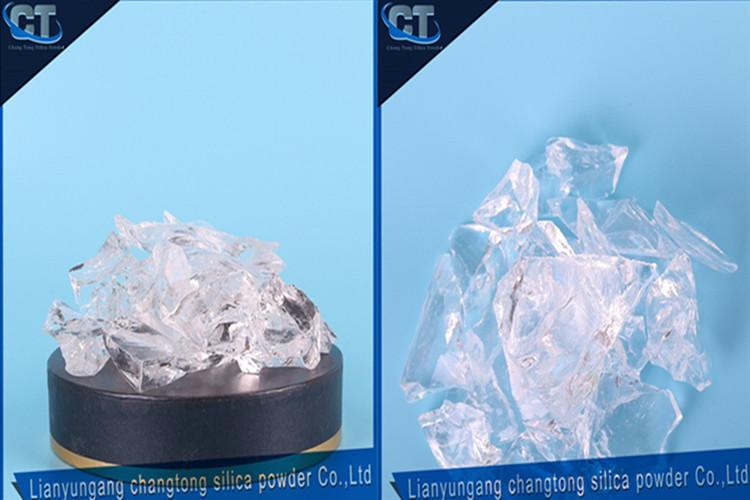 Fused silica powder for investment casting 2