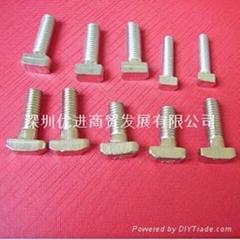 T型螺絲工業鋁型材配件