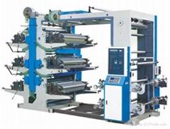 四色柔版印刷机