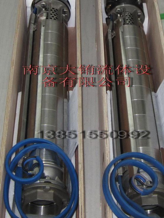 pladpumps富蘭克林電機驅動深井泵 2