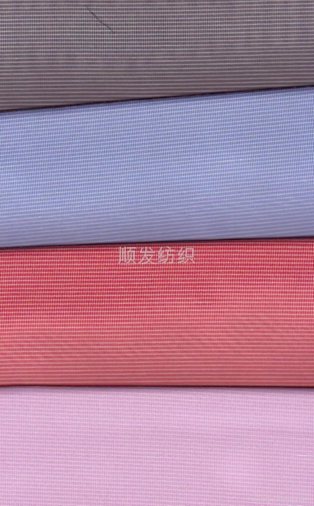 色织格子衬衫布 2