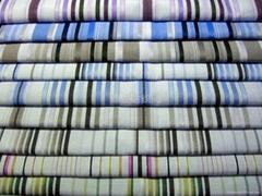 全棉色織襯衫布