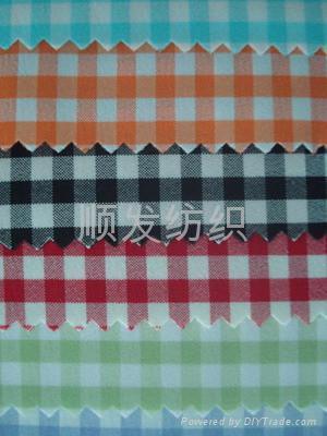 全棉色织衬衫布 2