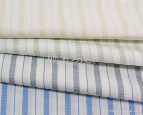 全棉色织衬衫布 5