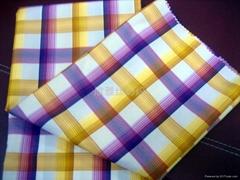 全棉色織提花襯衫布