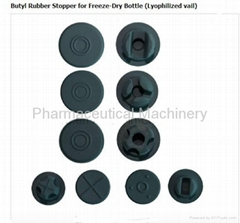 Butyl Rubber Stopper for Freeze-Dry Bottle