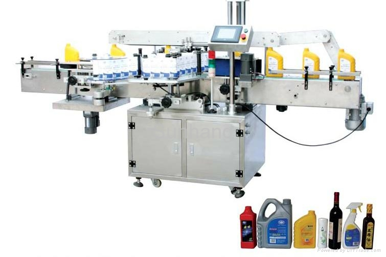 MPC-DS Double Side Self-adhesive round, square and flat bottle Labeling Machine