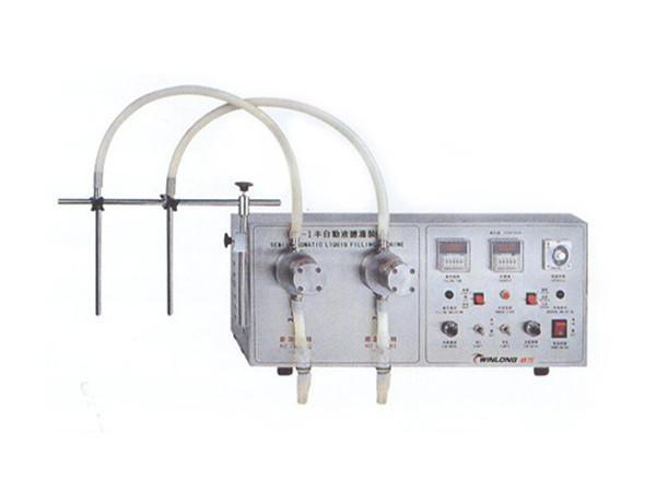 SF-1-1|SF-1-2 Semiautomatic liquid filling machine 1