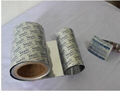 PTP Lidding Foil for Blister Packing Machine