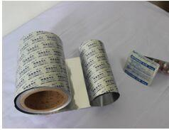 PTP Lidding Foil for Blister Packing Machine