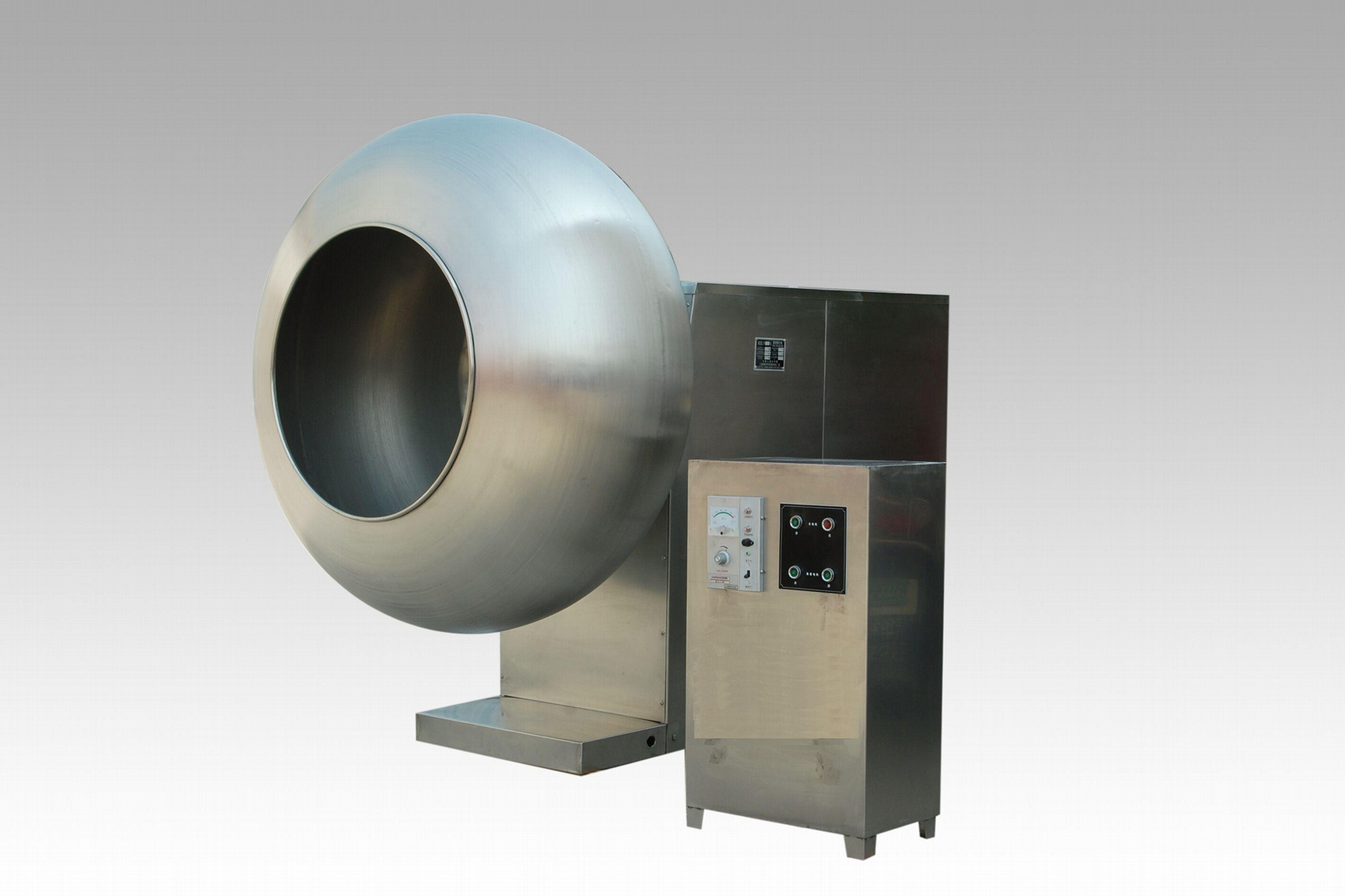 BY-1500 High Capacity Coating Machine for Chocate/Chewing Gum/medcine Tablet