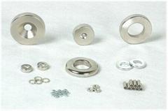 環形圓柱方塊永磁沉頭孔強力磁鐵