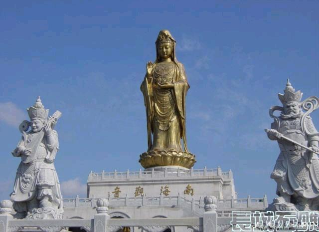 石雕佛像观音菩萨 3