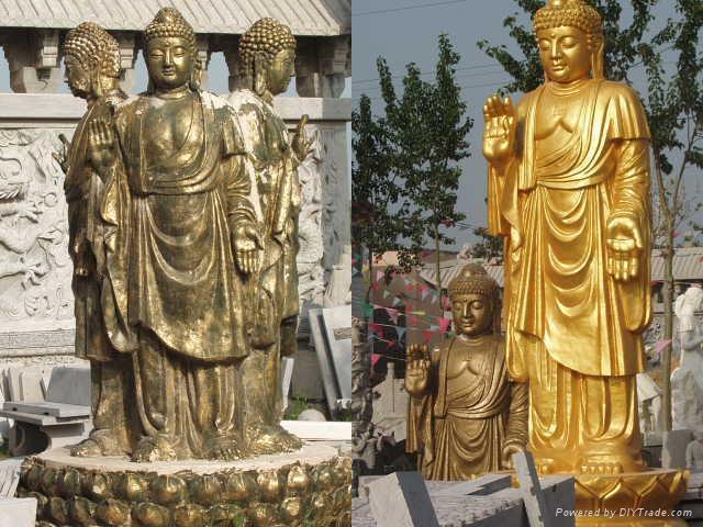 石雕佛像观音菩萨 4