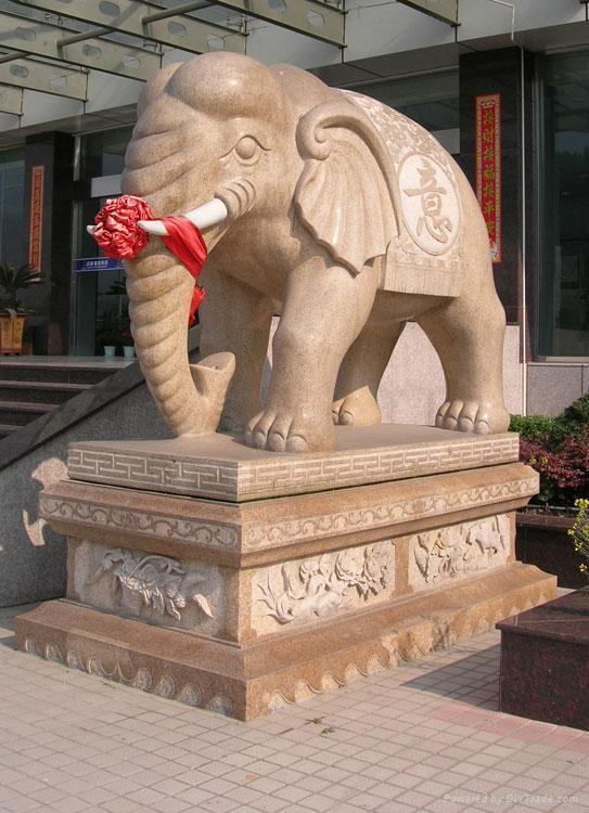 石象石雕大象招财象 1