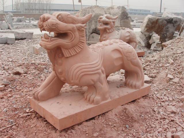石雕貔貅獬豸独角兽 4