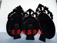 東莞埔鑫花式造型相框植絨背板