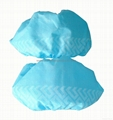 Disposable nonwoven shoe cover