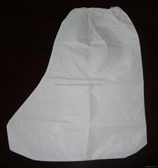 Disposable non-woven boot cover