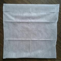 Disposable non-woven pillow case