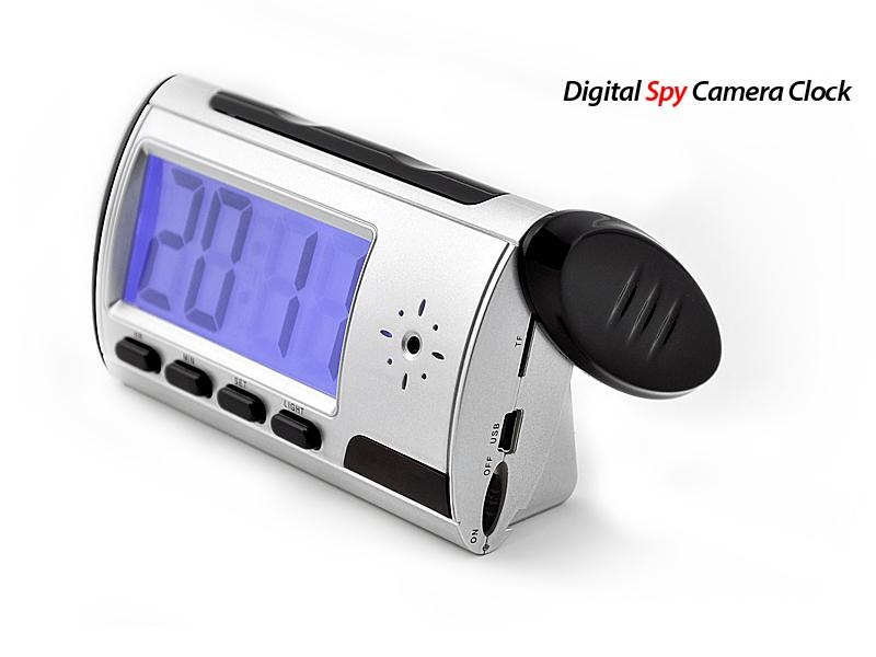 Digital Spy Camera Clock with Remote Control and Motion Detection 2