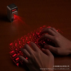 New Wireless Bluetooth Laser Virtual Projection Keyboard for iPhone 4 4G 3GS