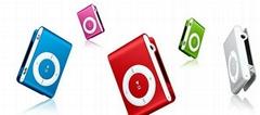 Mp3 player headphone shuffle style with TF micro sd card slot good soud