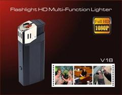 Flashlight,HD multi-function lighter realy lighter 1080P camera