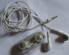 Promotional Good quality earphone for smart mobile phone/iphone NO MIC