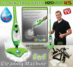 MOP X5 Steam Mop Green 5in1 Chemical Free Steam Cleaning Machine