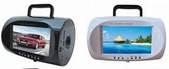 7.5Inch Portable Boombox DVD Player with TV tuner