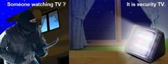 Home Security TV Simulator - Fake TV - Burglar Deterrent - Anti-Theft, Burglary