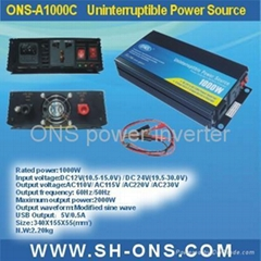 Power inverter with charger (1000W)