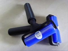 矽胶粘尘滚轮 硅胶滚筒 矽胶除尘轮