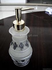 水晶膠彩繪香水瓶