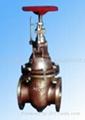 供应船用法兰铸钢闸阀CB/T4